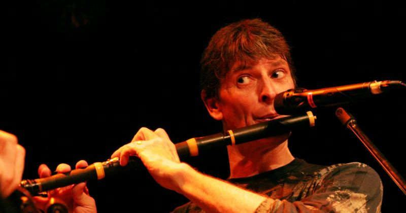 Sean Keane with Flute
